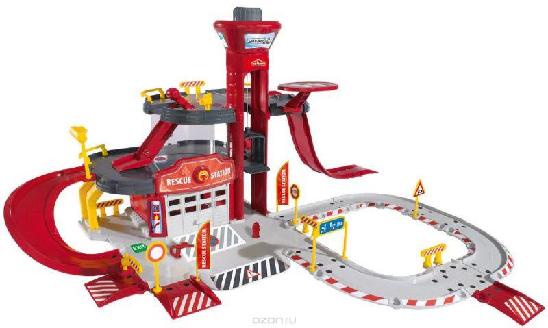 Majorette Игровой набор Пожарная станция Creatix