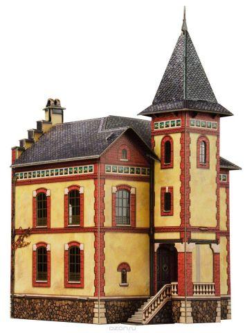 Умная бумага 3D пазл Вилла в Виллемомбле