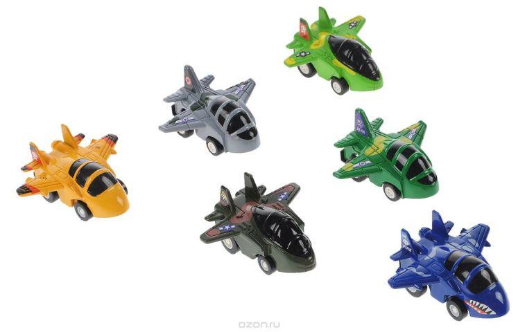 Дрофа-Медиа Набор инерционных игрушек Самолеты 6 шт