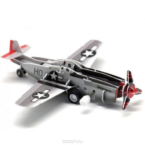 Pilotage Заводной 3D Пазл Самолет Fighter
