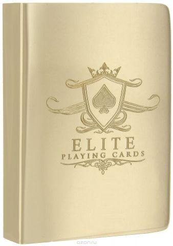 """Чехол для карт """"Elite"""", цвет: золотистый"""