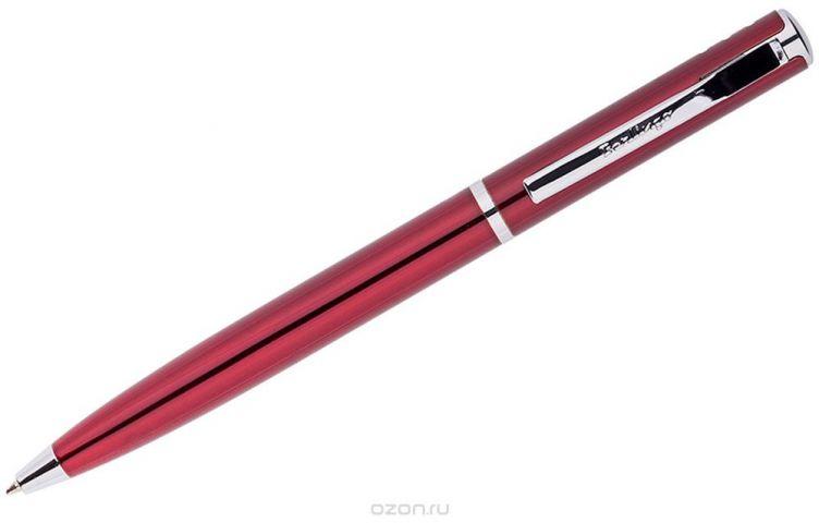 Berlingo Ручка шариковая Silver Standard цвет корпуса бордовый