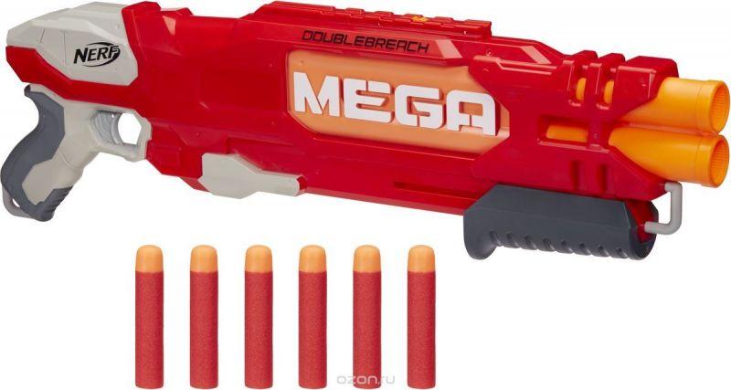 Nerf Бластер Mega Doublebreach