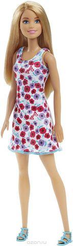 Barbie Кукла цвет платья белый розовый сиреневый