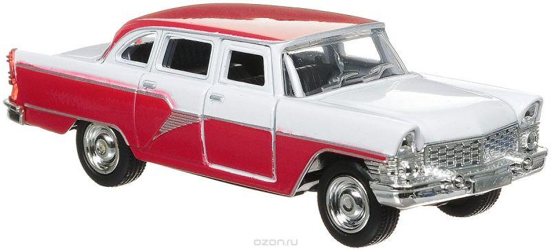 ТехноПарк Машина инерционная ГАЗ-13 Чайка цвет белый красный