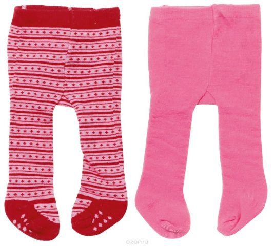 Baby Born Колготки для кукол цвет бордовый розовый 2 шт