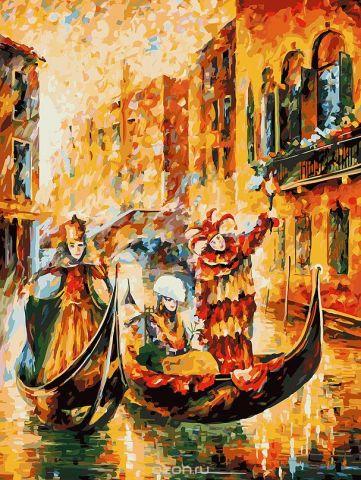"""Живопись на холсте Белоснежка """"Венецианская гондола"""", 30 х 40 см"""