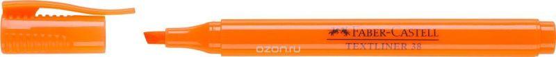 Faber-Castell Текстовыделитель 38 цвет оранжевый