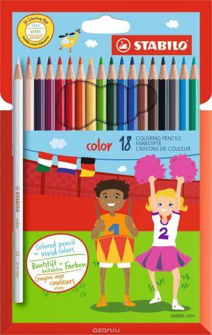 STABILO Набор цветных карандашей Color 18 шт 1918/77-11