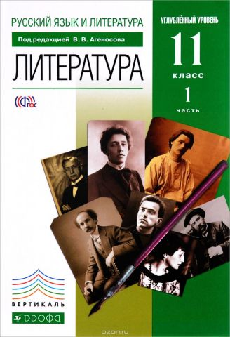 Русский язык и литература. Литература. 11 класс. Углубленный уровень. Учебник. В 2 частях. Часть 1