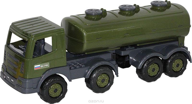 Полесье Военный автомобиль Престиж с полуприцепом-цистерной