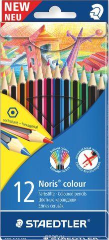 Staedtler Набор цветных карандашей Noris Colour LQ Wopex 12 цветов