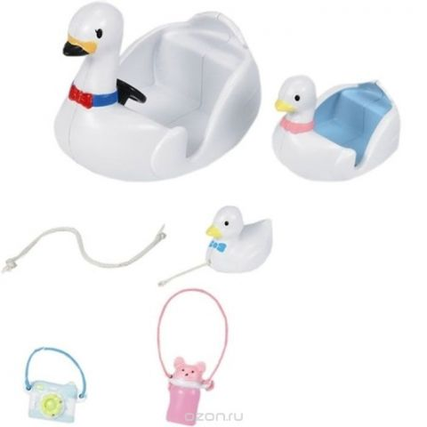 Sylvanian Families Игровой набор Лодка-лебедь