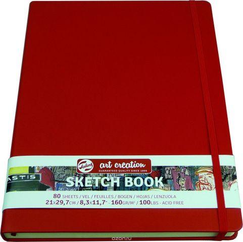 Royal Talens Блокнот для зарисовок Art Creation цвет красный 80 листов 9314203M