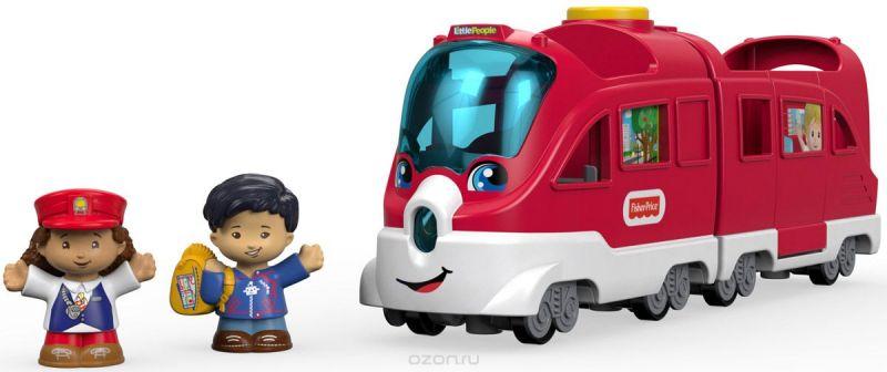 Little People Игровой набор Поезд Вежливые пассажиры