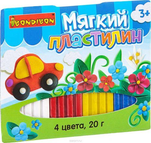 Bondibon Мягкий пластилин ВВ1812