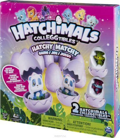 Hatchimals Настольная игра Memory + 2 коллекционные фигурки