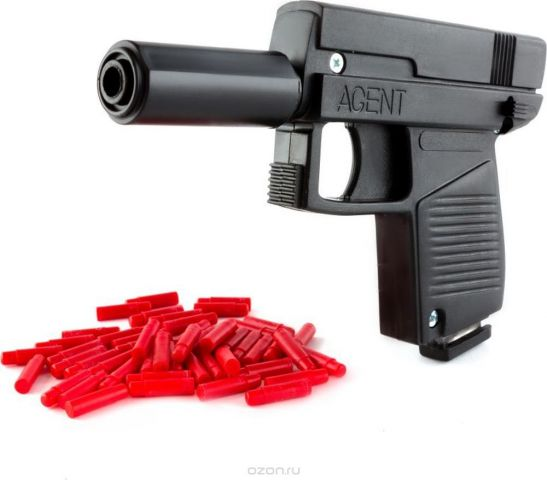 Пластмастер Пистолет Агент