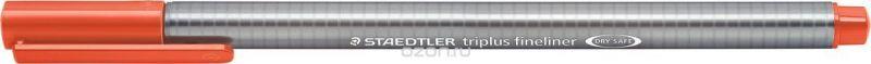 Staedtler Ручка капиллярная Triplus 334 0,3 мм цвет чернил алый 334-24