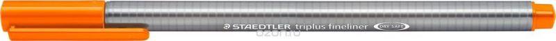 Staedtler Ручка капиллярная Triplus 334 0,3 мм цвет чернил оранжевый