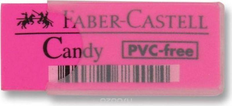 Faber-Castell Ластик Candy цвет розовый
