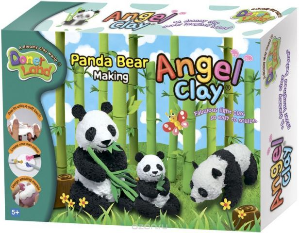 Angel Clay Масса для лепки Panda Bear Making