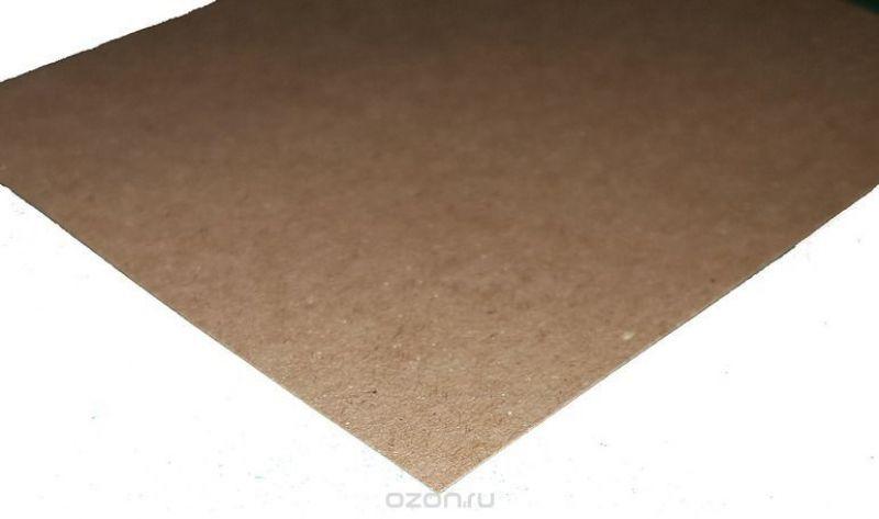 """Крафт листовой """"Decoriton"""", цвет: коричневый, плотность 120гр/м2, толщина 175 мкм, 29,7 х 42 см, набор 5 шт"""