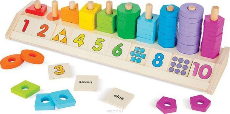 Melissa & Doug Обучающая игра Счеты-разложи по цветам