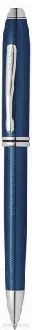 Cross Ручка шариковая Townsend цвет корпуса синий