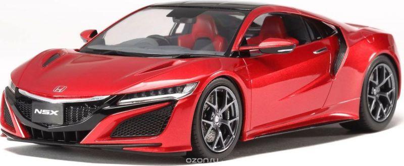 Welly Модель автомобиля Honda NSX цвет красный