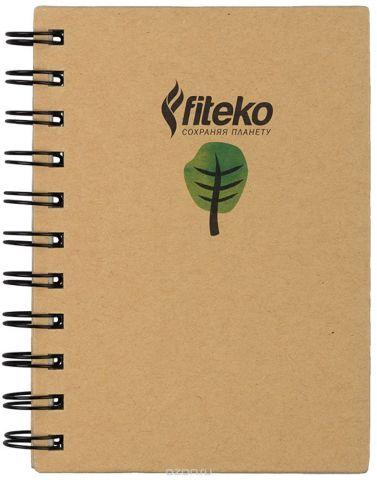 Fiteko Тетрадь 80 листов цвет светло-коричневый RPT-07