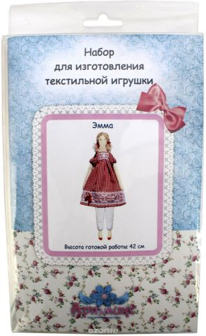 """Набор для изготовления игрушки Артмикс """"Эмма"""", высота 42 см. AM100016"""
