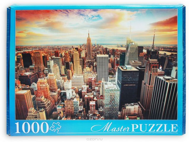 Masterpuzzle Пазл Утро в Нью-Йорке