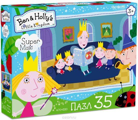 Ben&Holly Пазл для малышей Читаем сказки