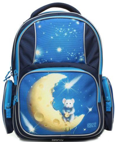 4ALL Рюкзак School цвет синий