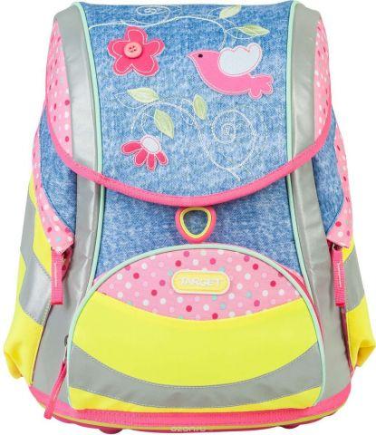 Target Ранец школьный Love Bird цвет голубой