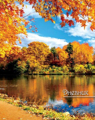 Апплика Дневник школьный для старших классов Золотая осень С3623-06