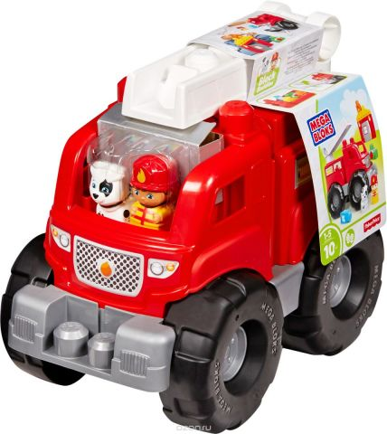 Mega Bloks Storytelling Конструктор Пожарная машина