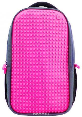 Upixel Пиксельный рюкзак для ноутбука цвет фуксия