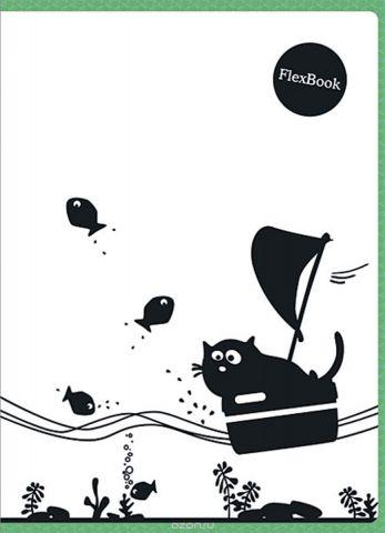 Expert Complete Тетрадь Animals 80 листов в клетку цвет белый черный зеленый формат A4