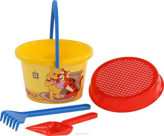 Disney Набор игрушек для песочницы Винни и его друзья №6