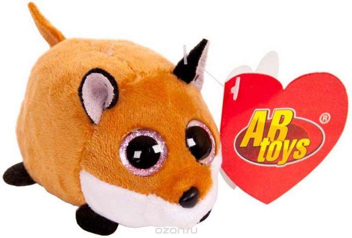ABtoys Мягкая игрушка Лисичка 10 см