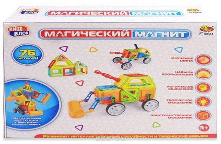 Abtoys Конструктор Магический магнит PT-00844