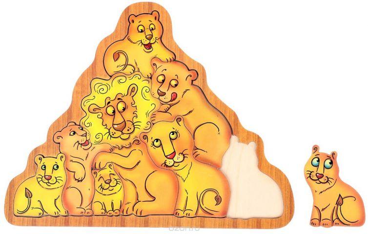Smile Decor Обучающая игра Головоломка Львы