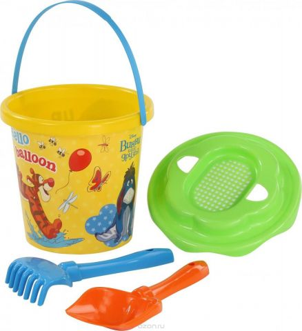 Disney Набор игрушек для песочницы Винни и его друзья №11