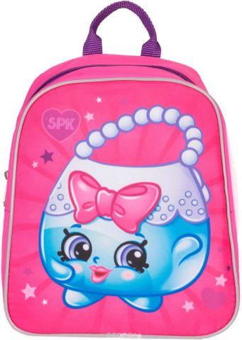 Shopkins Рюкзак детский Сумочка Шопкинс цвет розовый