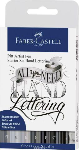 Faber-Castell Набор ручек Серый 8 предметов