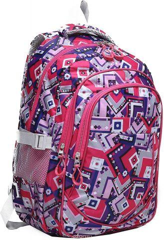 Рюкзак детский Абстракция цвет розовый 1661145