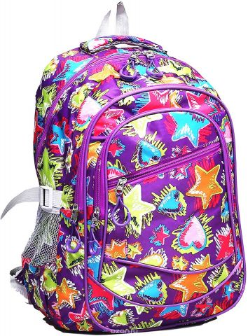 Рюкзак детский Звезды цвет фиолетовый 1661157