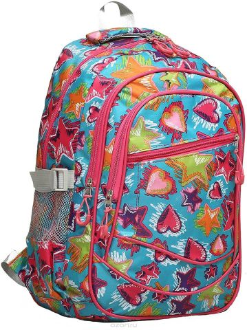 Рюкзак детский Звезды цвет разноцветный 1661158